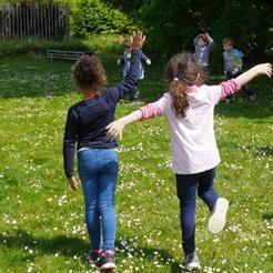 Danse au jardin