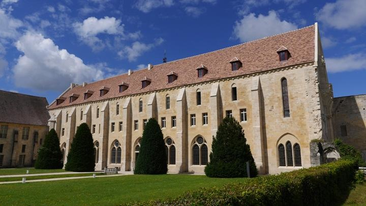 Visite de l'abbaye de Royaumont