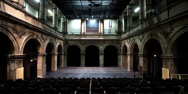 Plan de salle (Grande salle, Théâtre Paris-Villette)