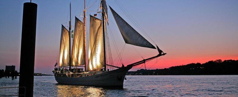 Abendtörn auf der Hanse Sail
