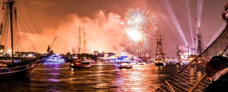 Feuerwerkstörn am Sonntag der Kieler Woche