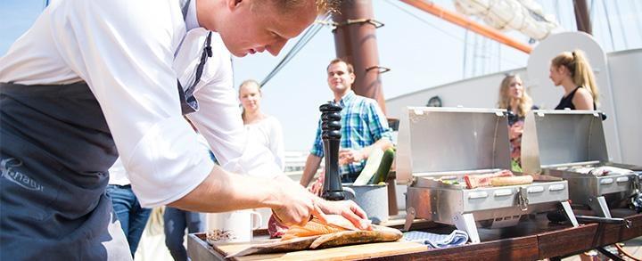 Swimming Barbecue auf der Kieler Woche