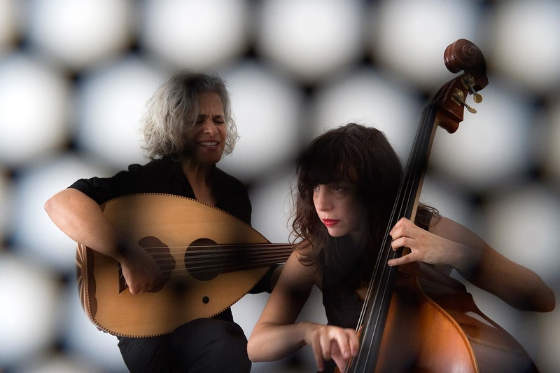 Kamilya Jubran et Sarah Murcia