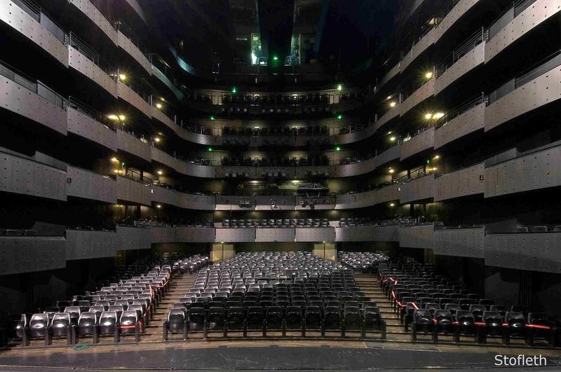 Plan de salle (Grande Salle, Opéra de Lyon)