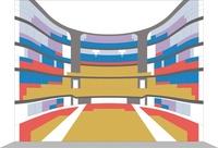 Seat plan (Grande Salle, Opéra de Lille)