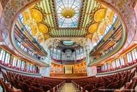 Seat plan (Concert Hall, Palau de la Música Catalana)