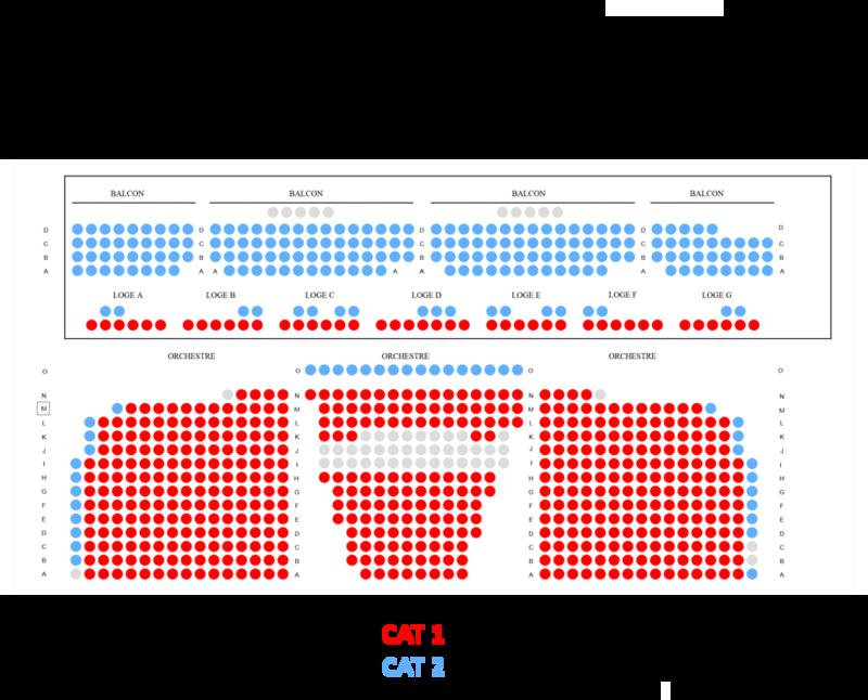 Plan de salle (Studio 104, Radio France)