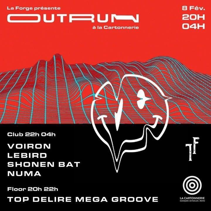 Outrun : Voiron + Lebird (Live)
