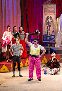 Une Carmen, étoile du cirque