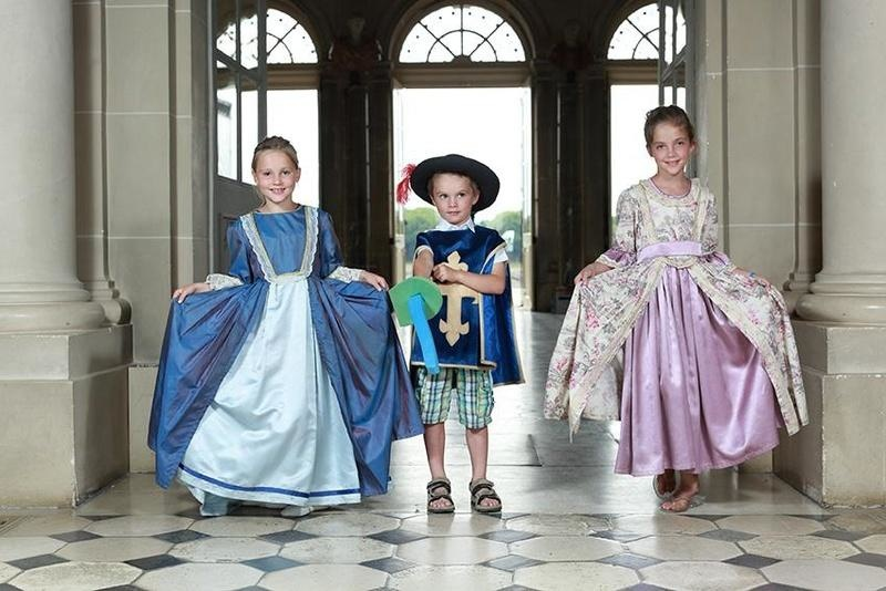 Costumed guided visit for Children