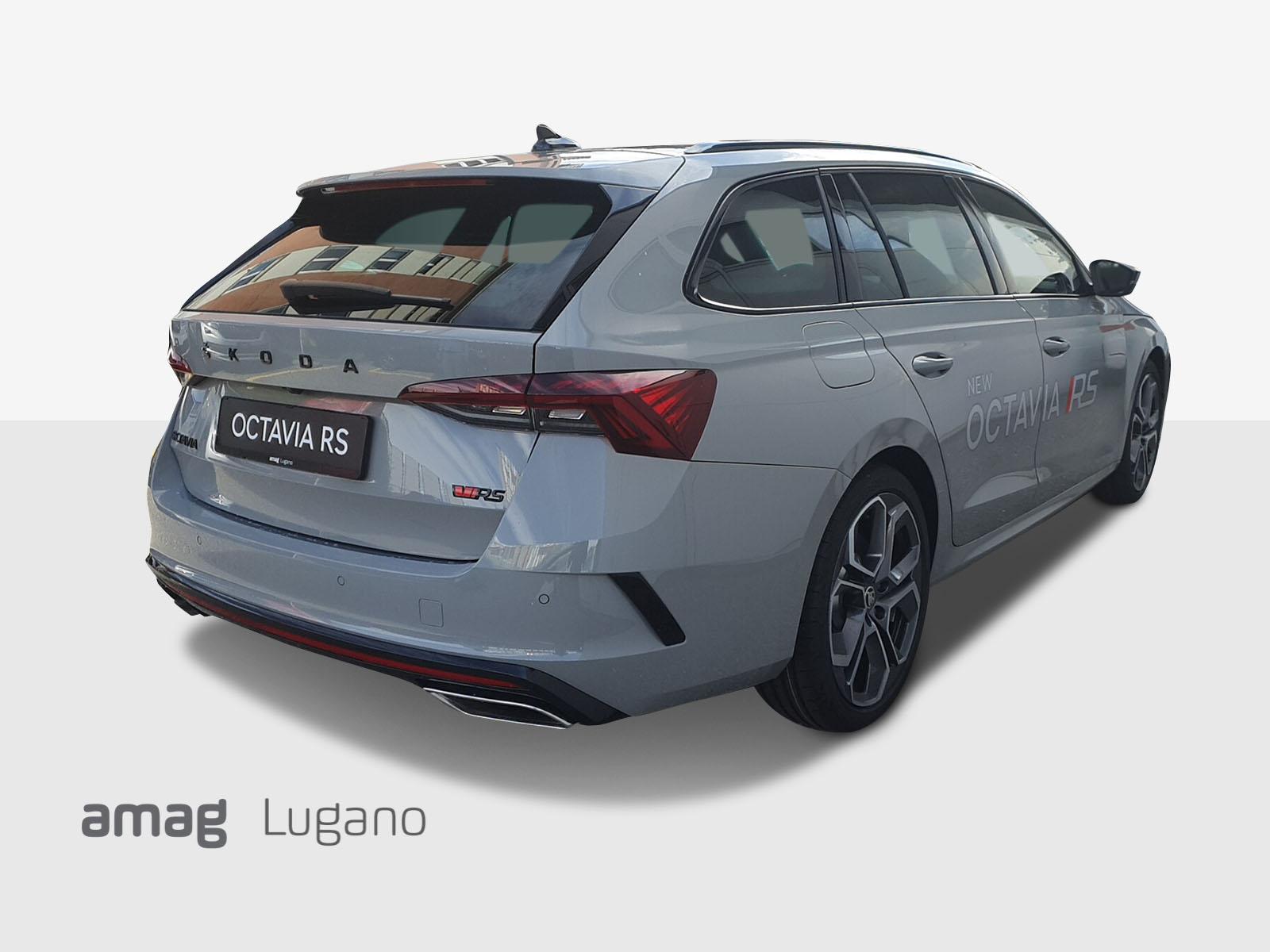 Skoda New Octavia Rs Immatricolazione 2020 500 A Lugano