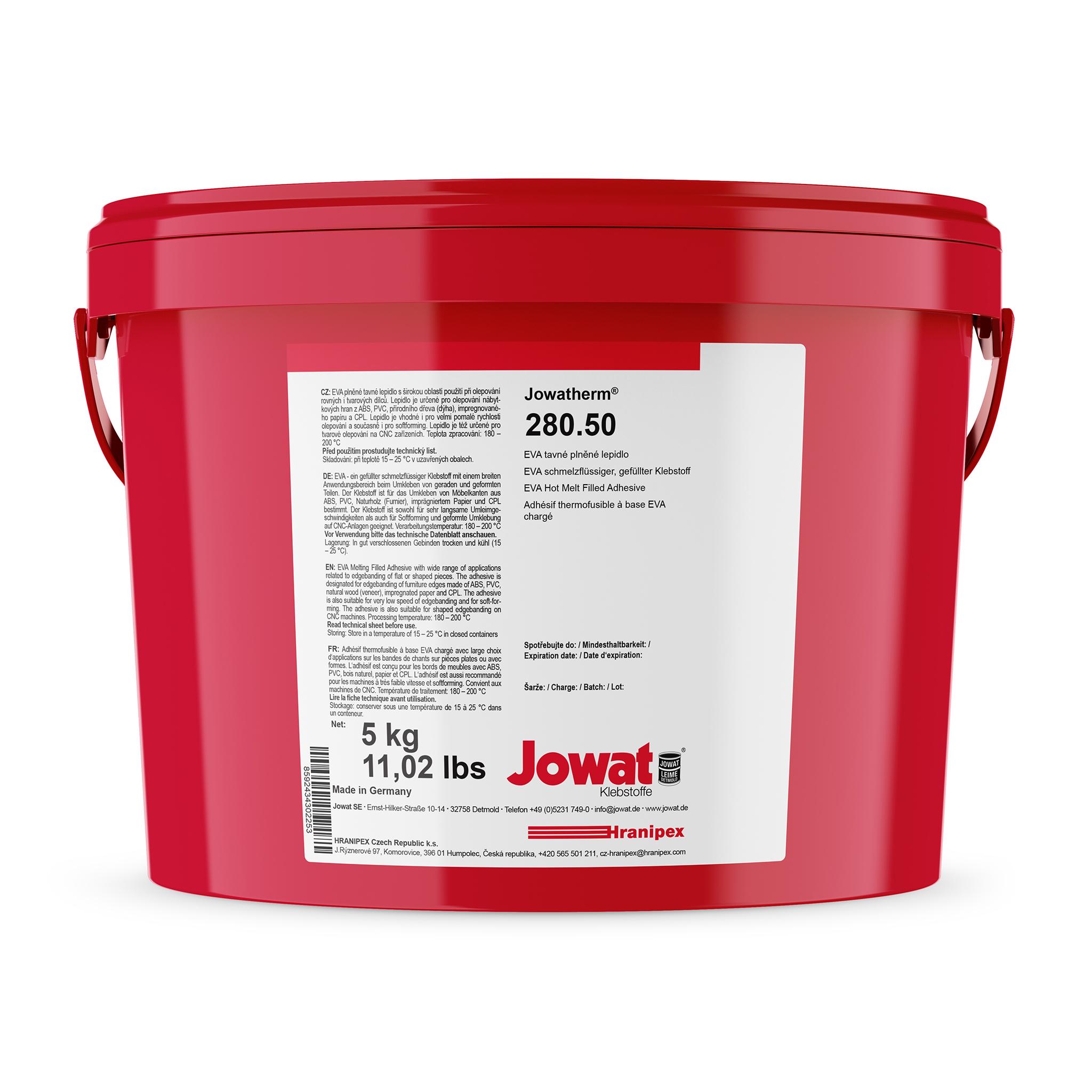 JOWATHERM 280.50 natur - EVA Schmelzkleber Granulat 5 kg granule