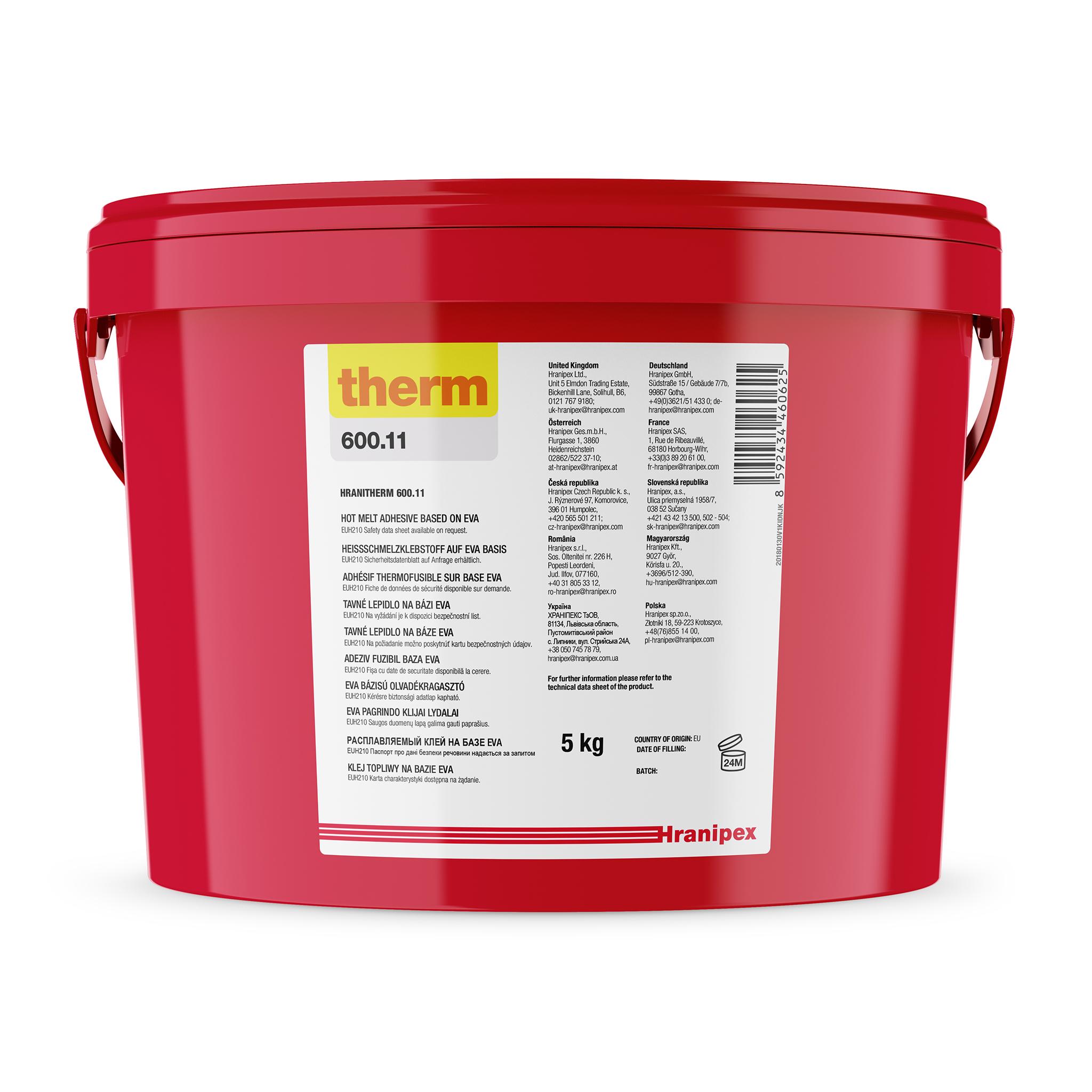 HRANITHERM 600.11 Blanc - EVA Thermofusible 5 kg granule