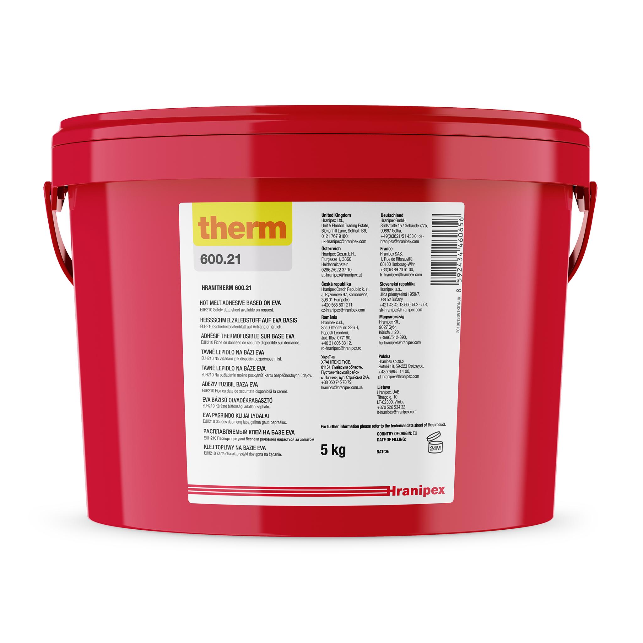 HRANITHERM 600.21 Bianco - EVA termofusibile 5 kg granule