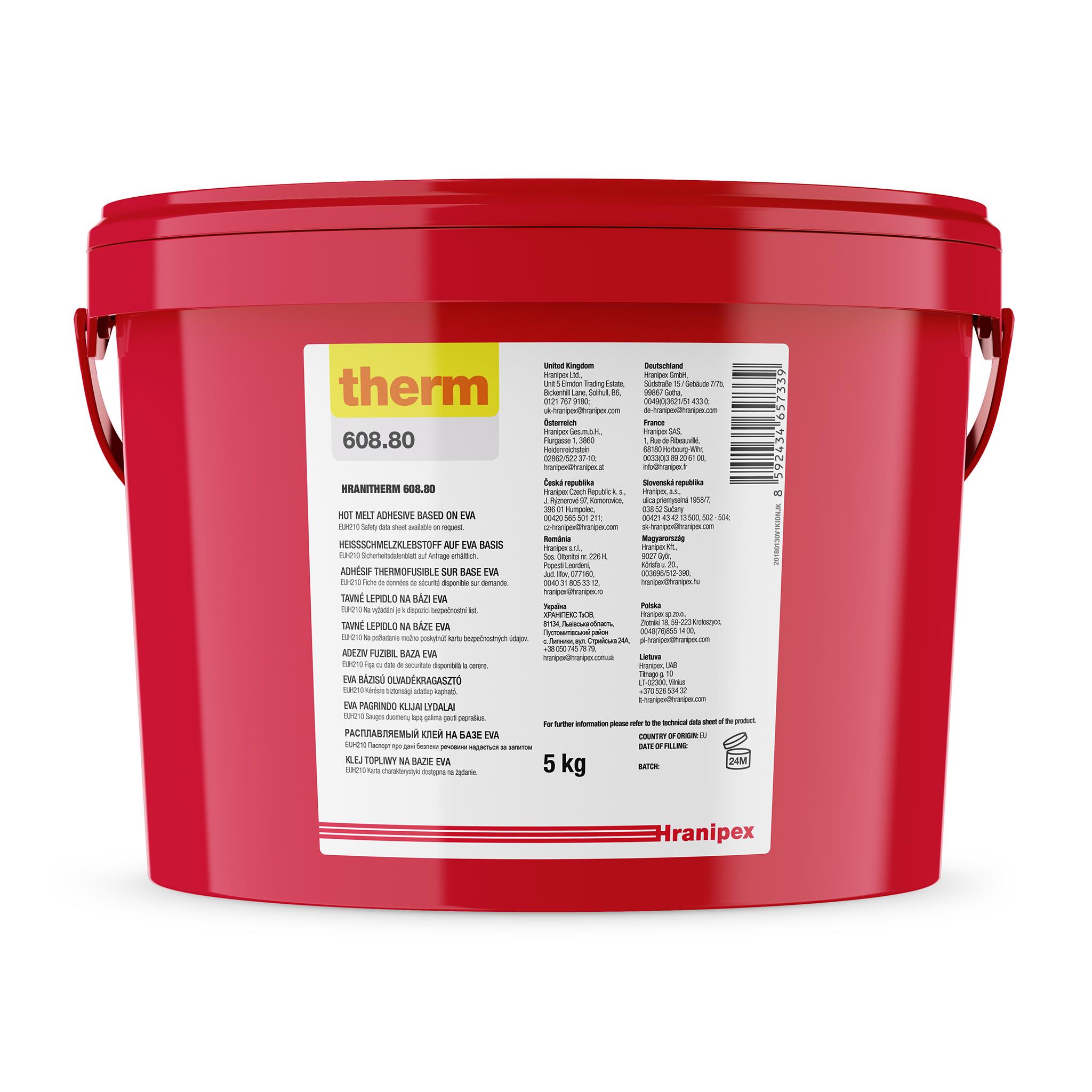 HRANITHERM 608.80 Naturale - EVA termofusibile 5 kg granule