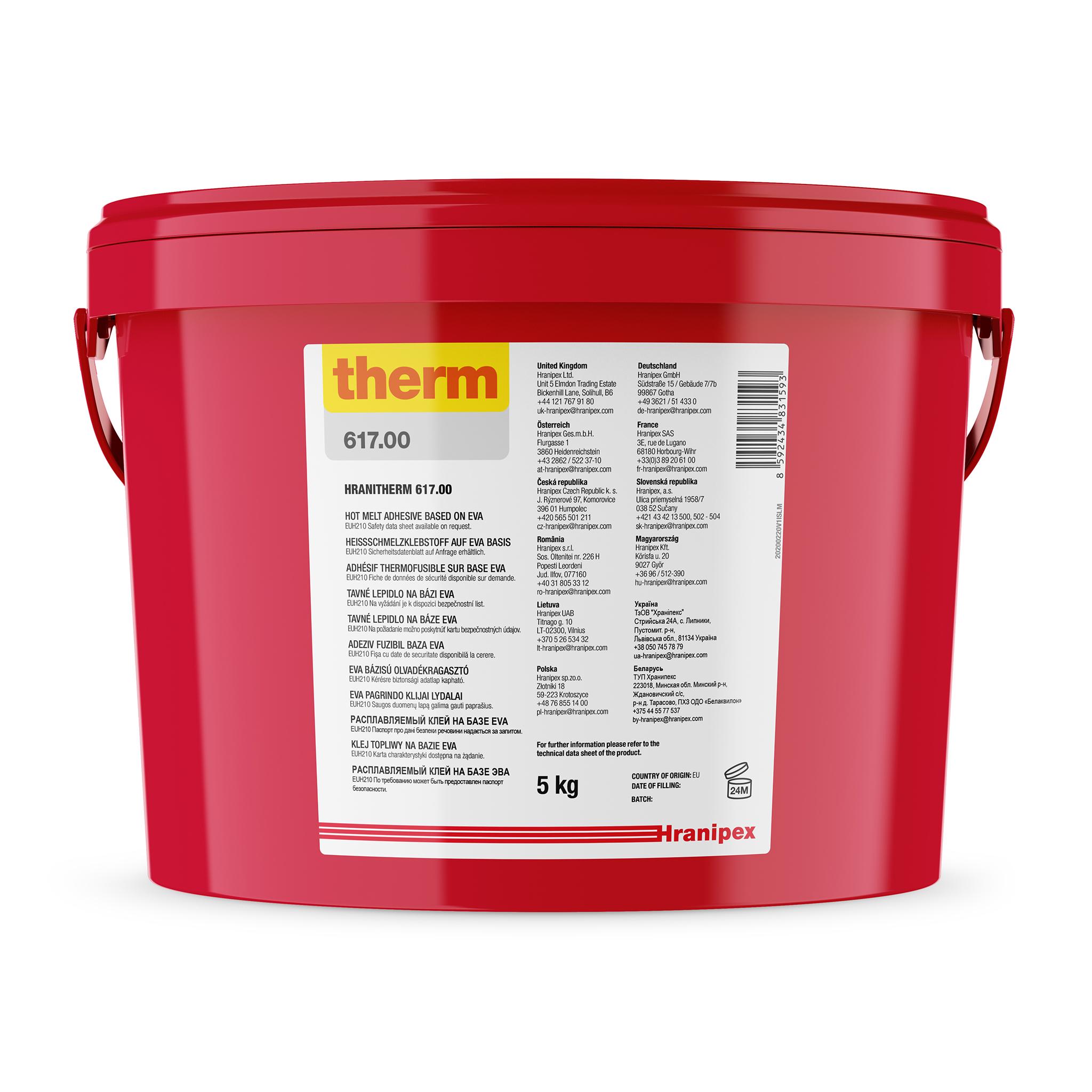 HRANITHERM 617.00 Natural - EVA Hot Melt 5 kg