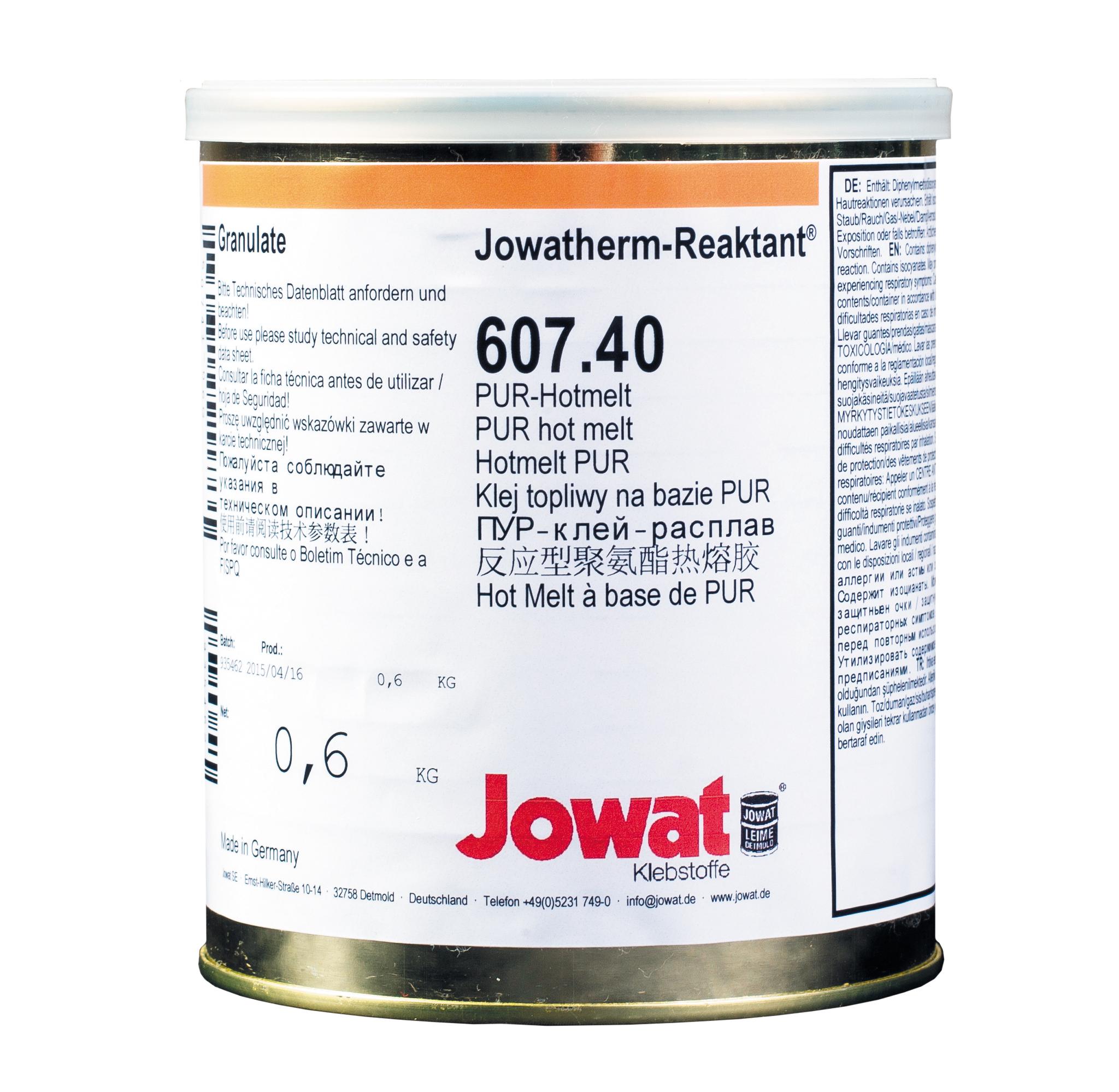 JOWATHERM 607.40 béžové - PUR tavné lepidlo 0,6 kg granule