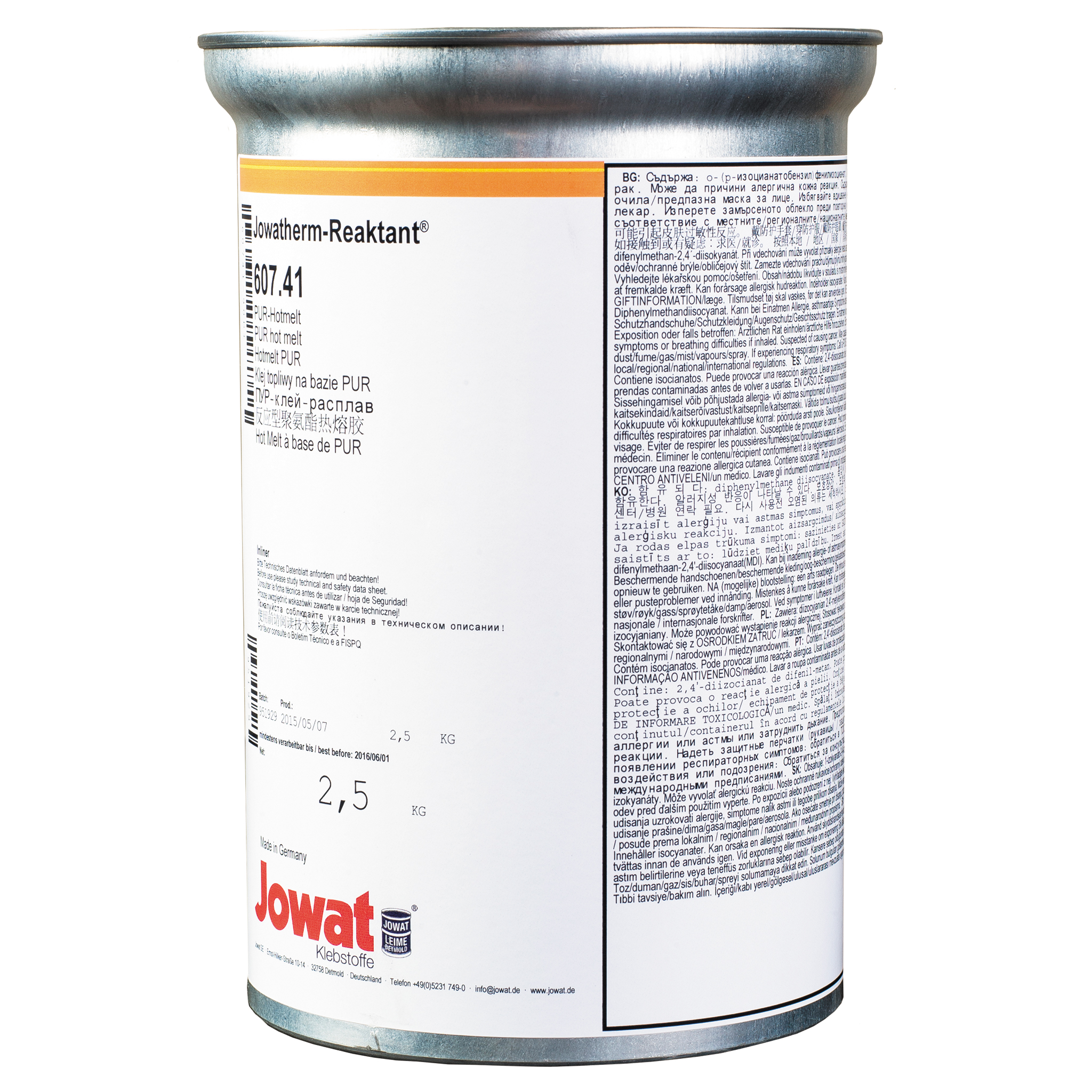 JOWATHERM 607.41 White - PUR Hot Melt 2,5 kg