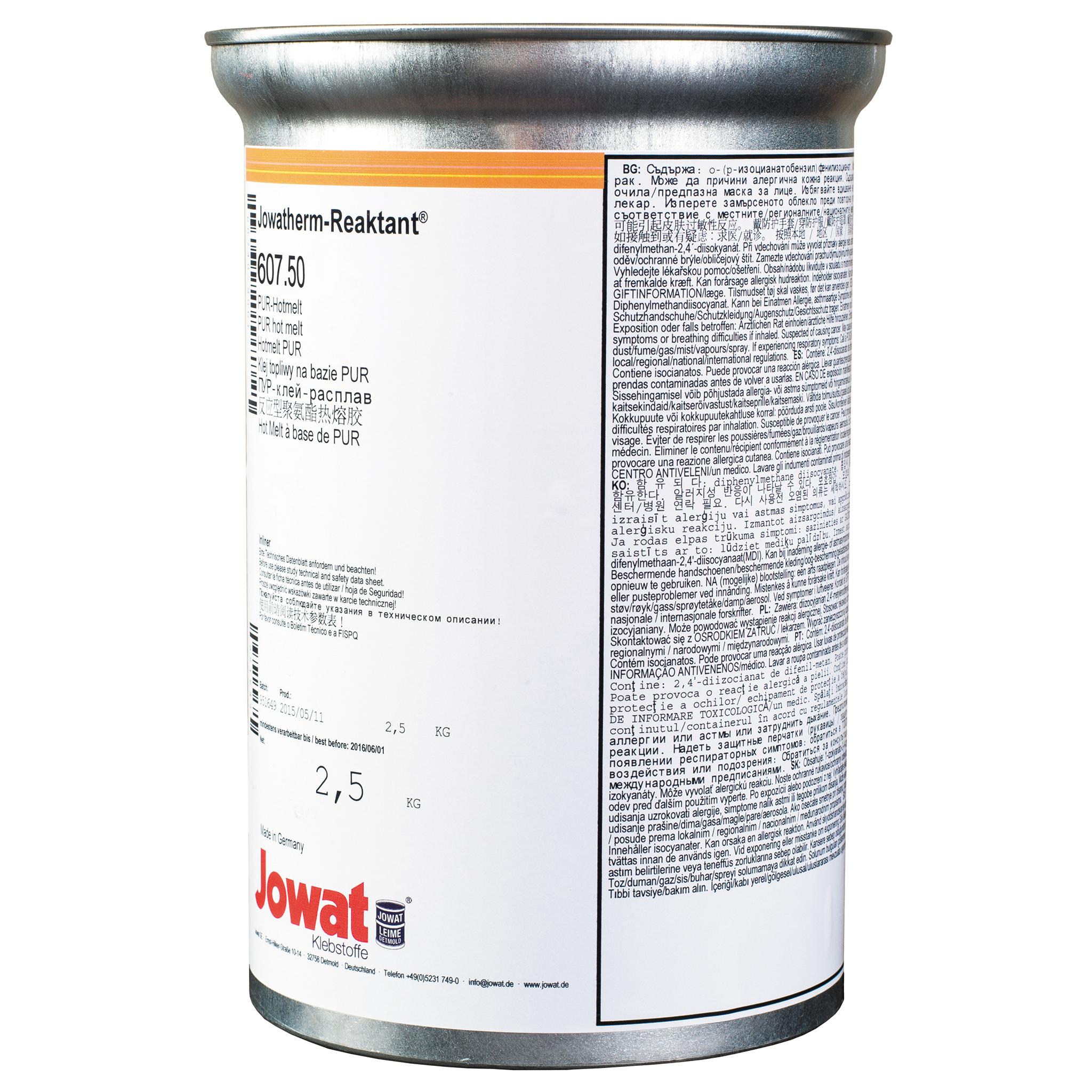 JOWATHERM 607.50 natur - PUR tavné lepidlo 2,5 kg