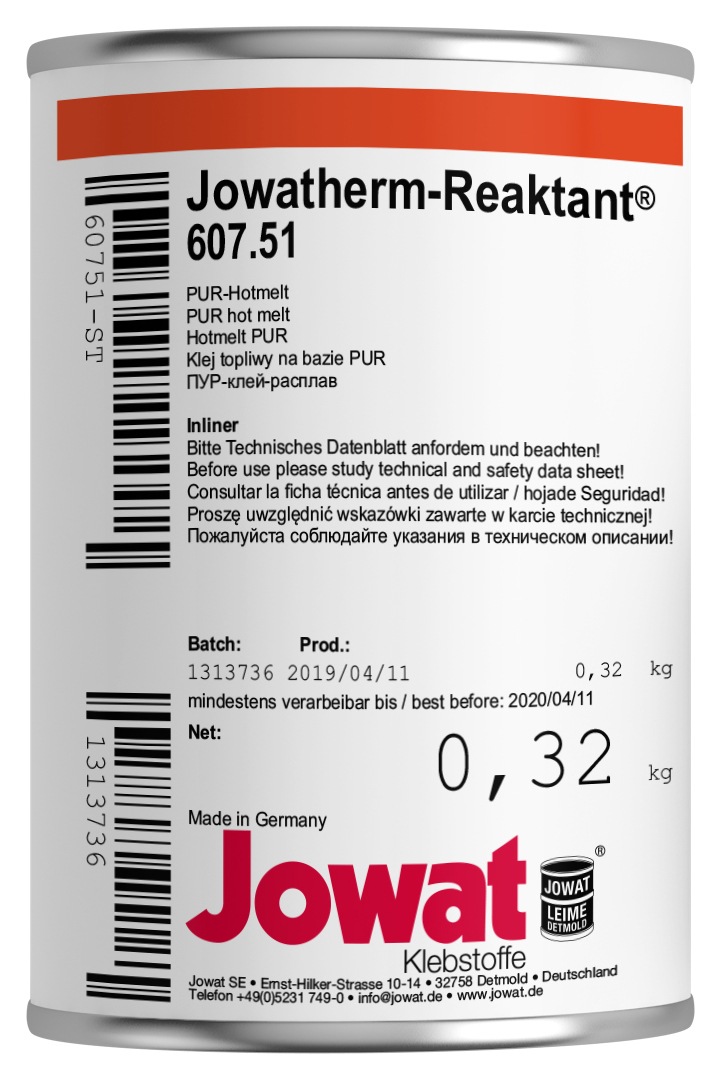JOWATHERM 607.51 Blanc - PUR Thermofusible