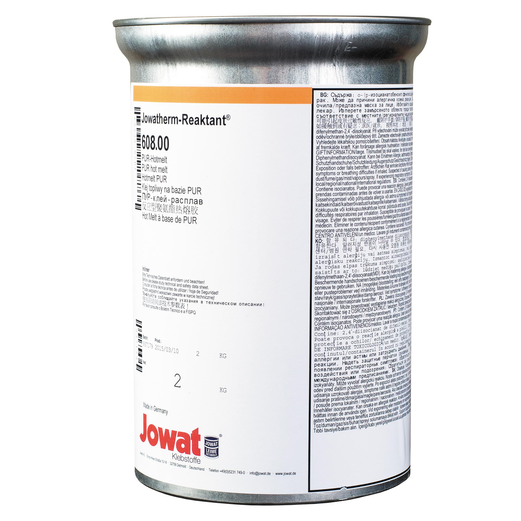 JOWATHERM 608.00 transparente - termoadhesivo EVA 2 kg
