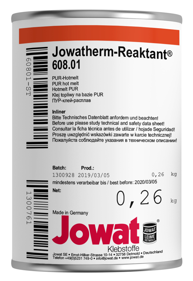 JOWATHERM 608.01 Blanc - PUR Thermofusible