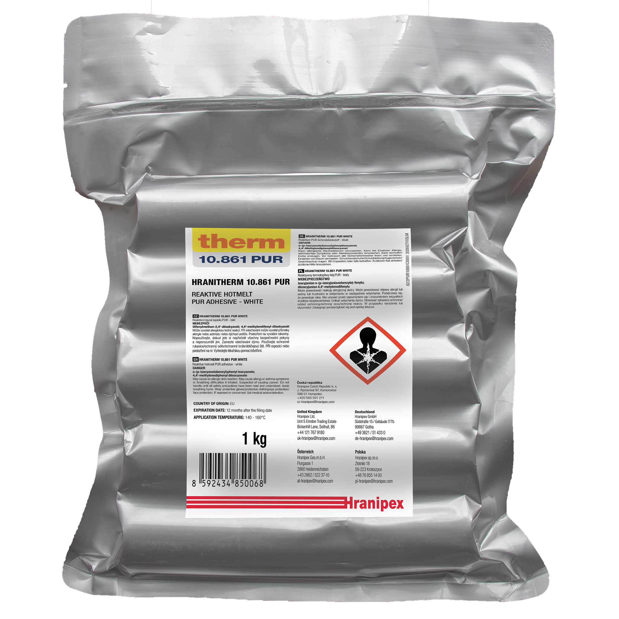 HRANITHERM 10.861 Blanc - PUR Thermofusible