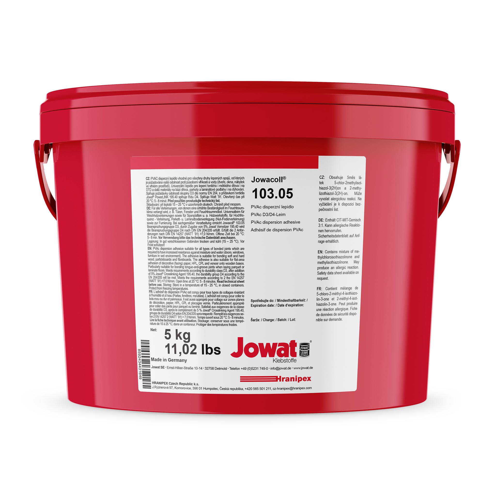 JOWACOLL 103.05 - PVAc Dispersive Adhesive
