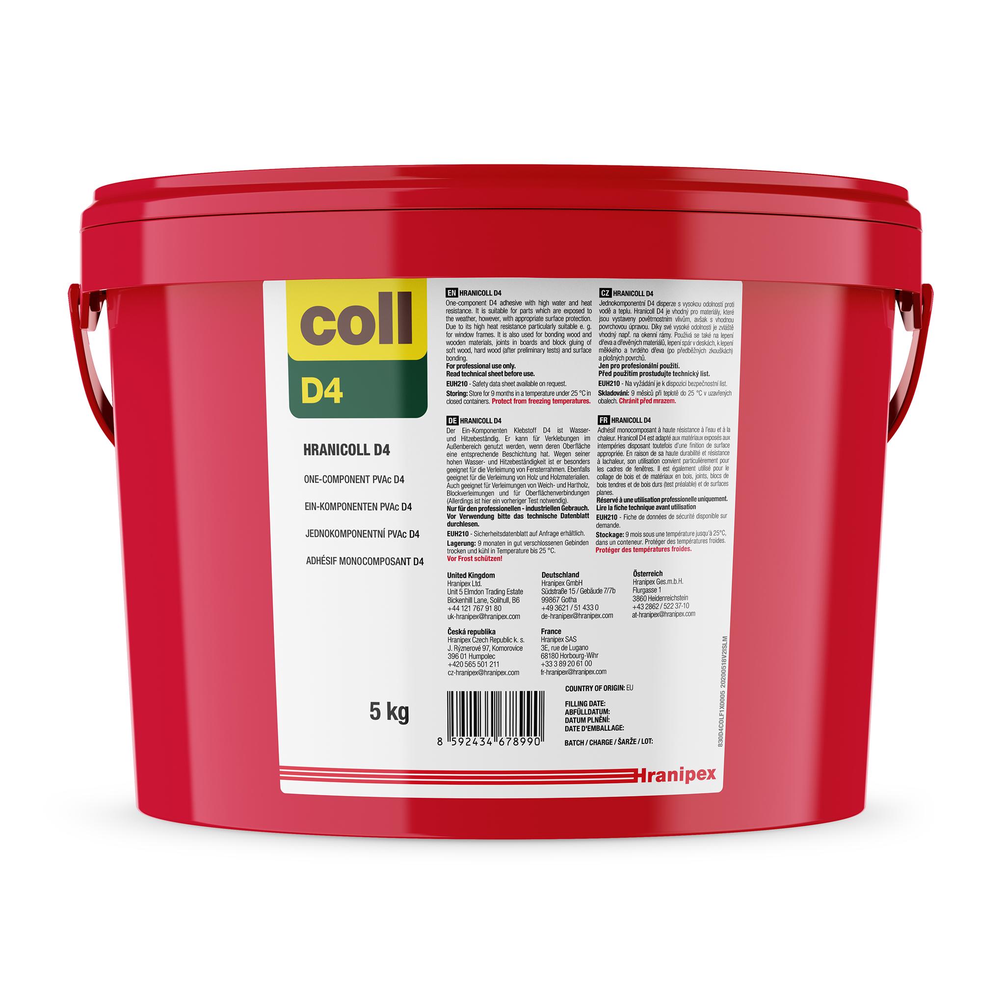HRANICOLL D4 - PVAc Dispersive Adhesive