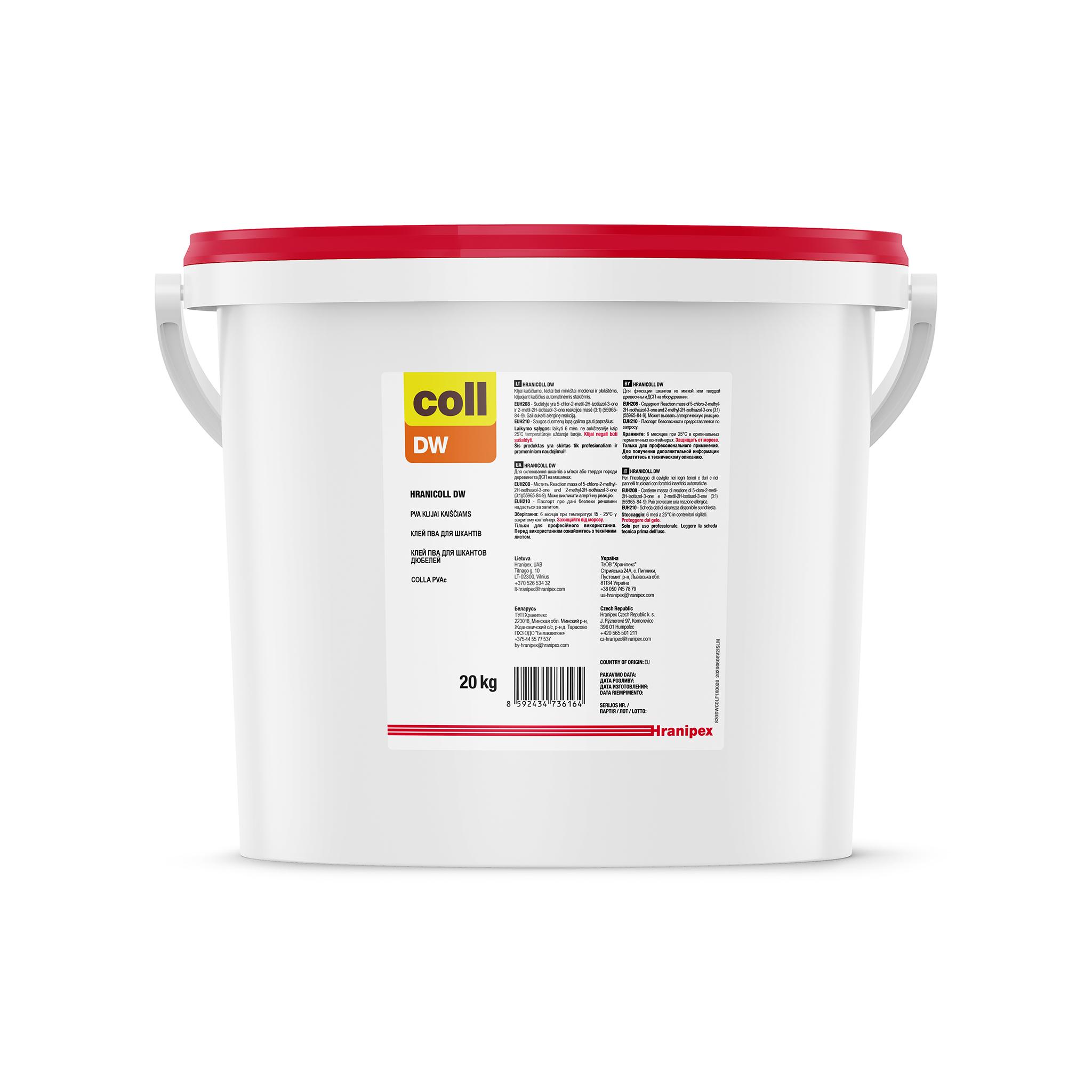 HRANICOLL DW - PVAc adesivo in dispersione acquosa
