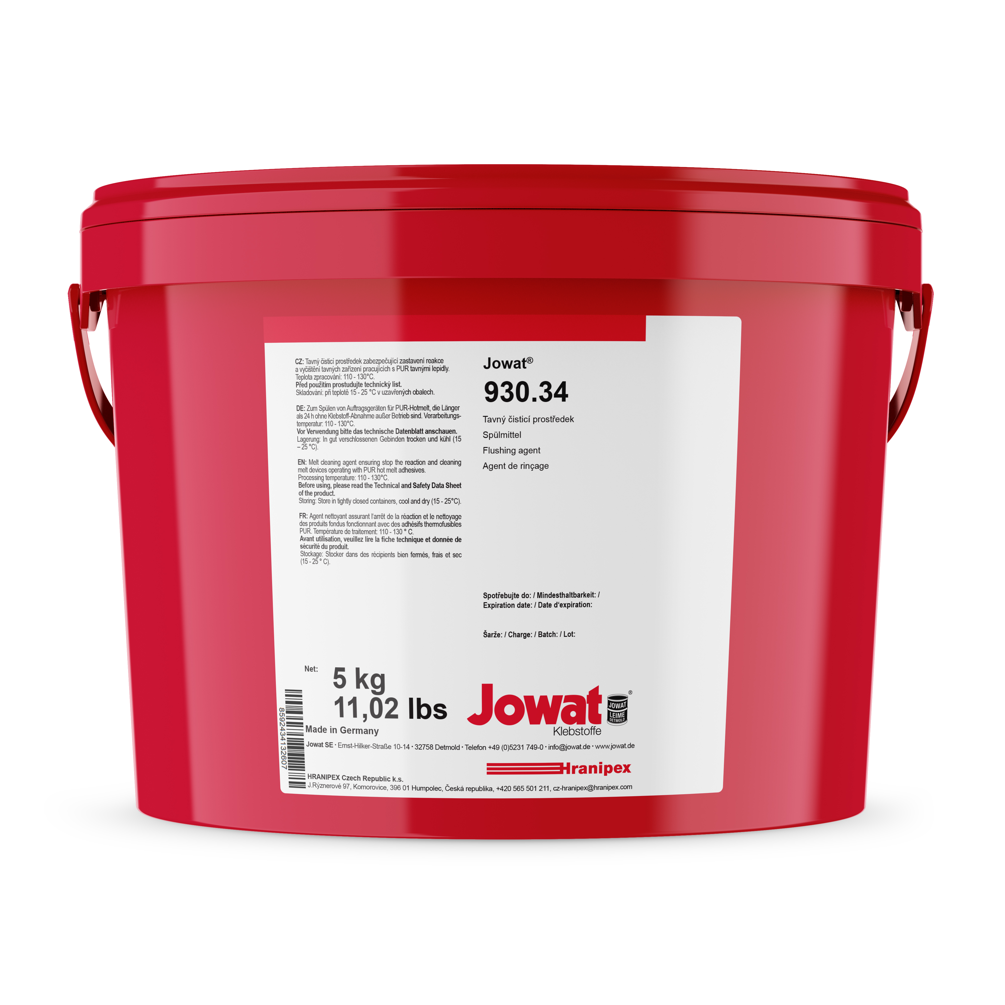 JOWAT 930.34 - Flushing Agent for PUR Glues