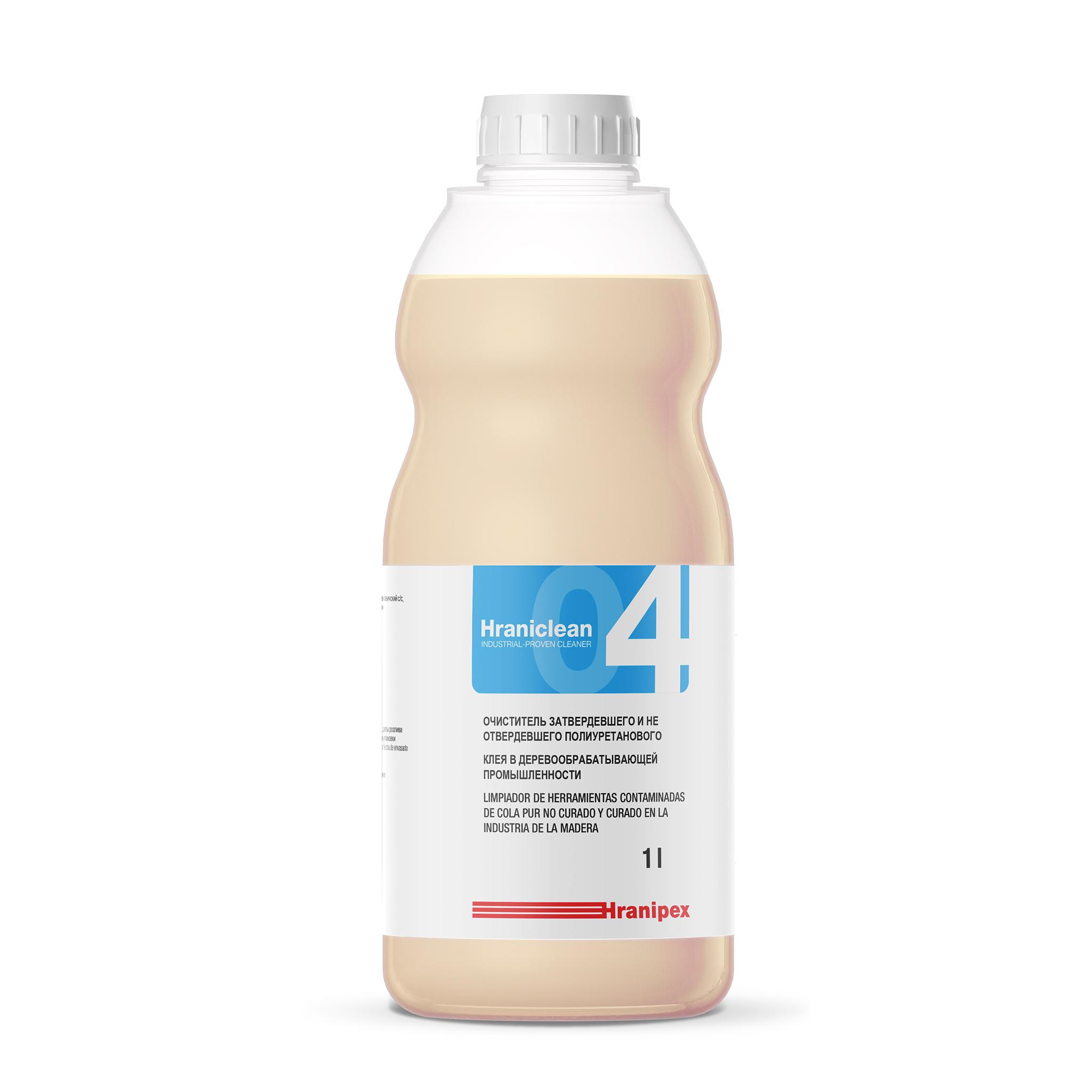 HRANICLEAN 04 Limpiador de adhesivo PUR endurecido
