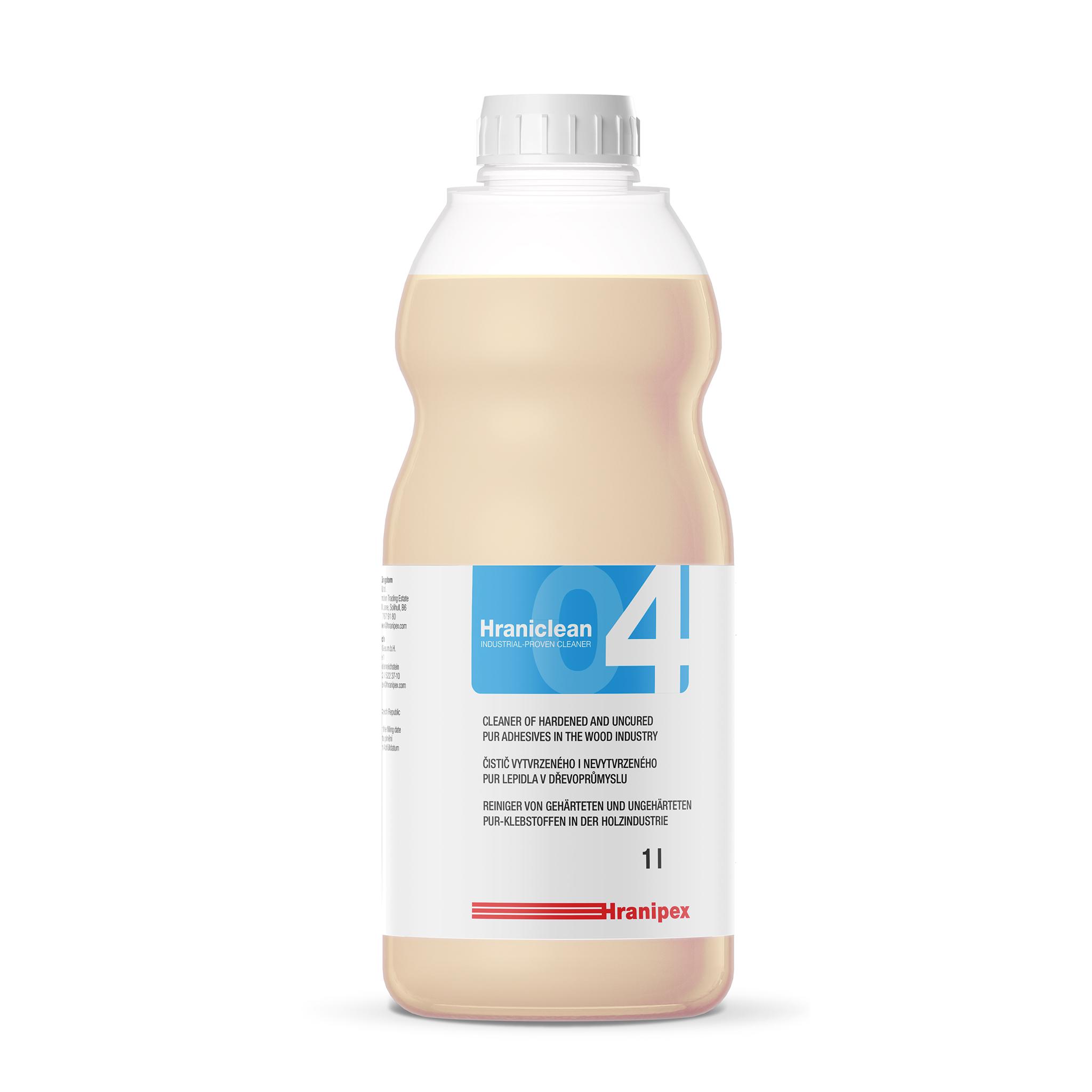 HRANICLEAN 04 Reiniger für gehärteten PUR-Kleber