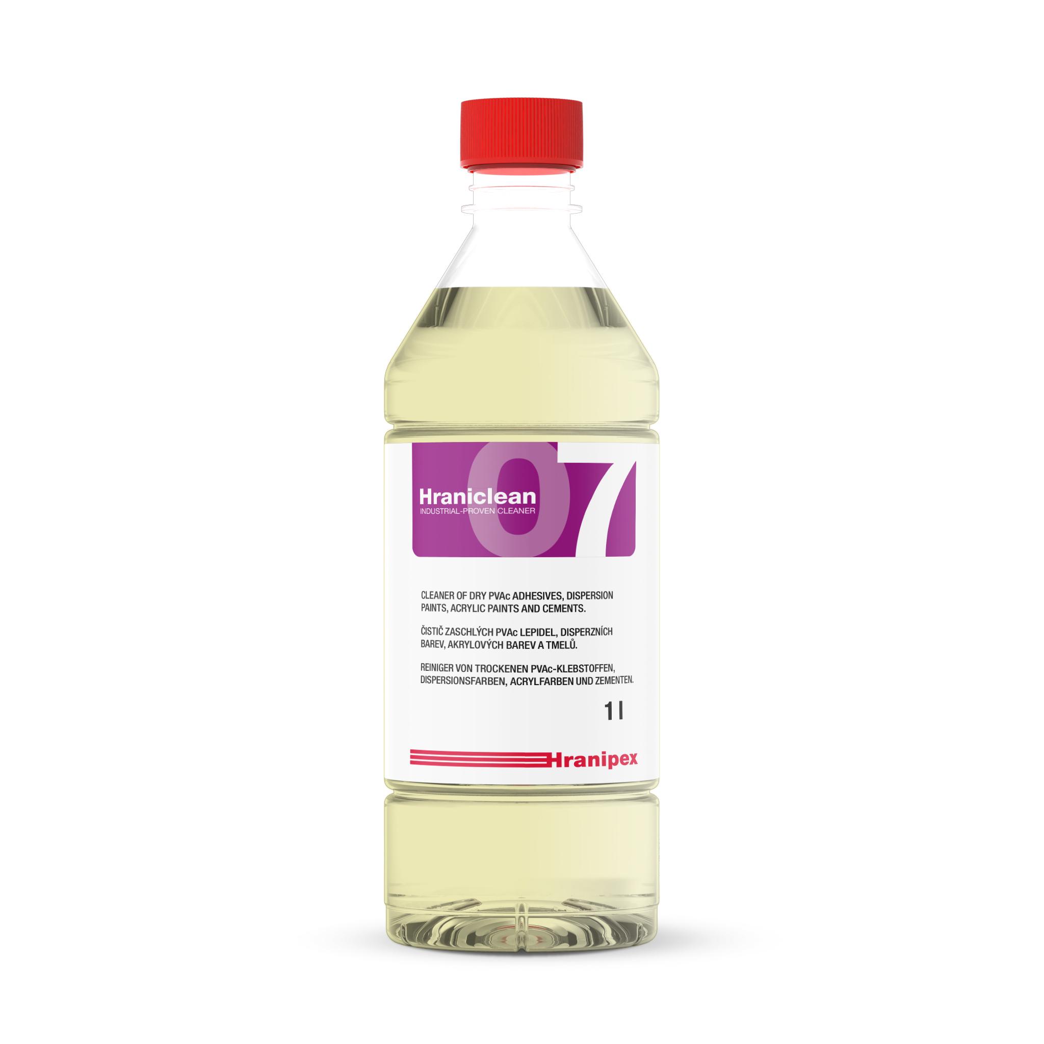 HRANICLEAN 07 reiniger voor PVAc-lijm en verf 1 l