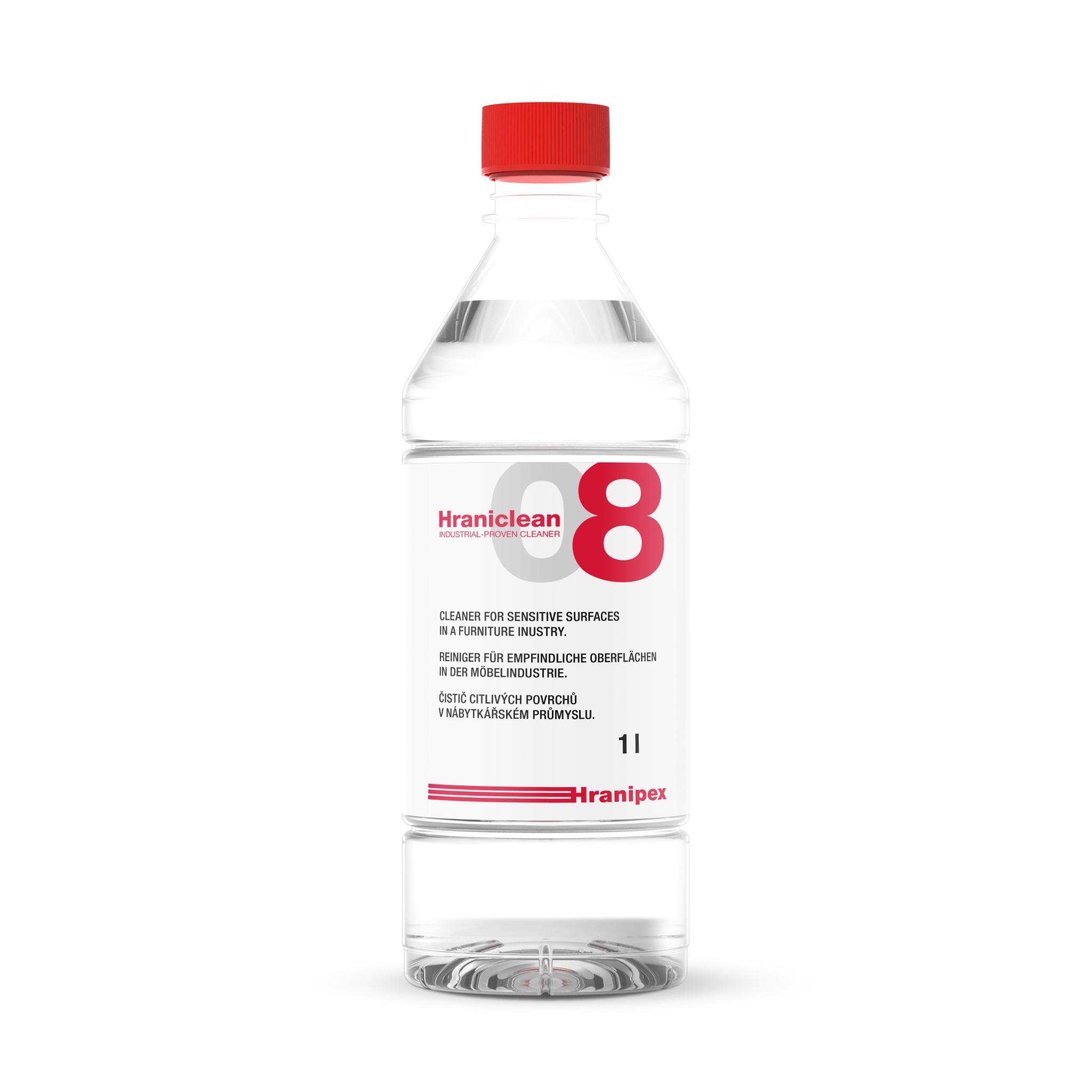 HRANICLEAN 08 Manueller Reiniger für sensible Oberflächen 1 l