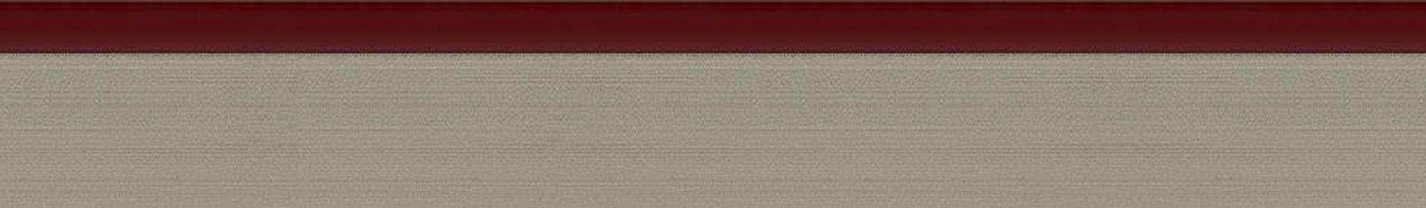 HD 29251 Acryl 3D Kante Edelstahl-Rot