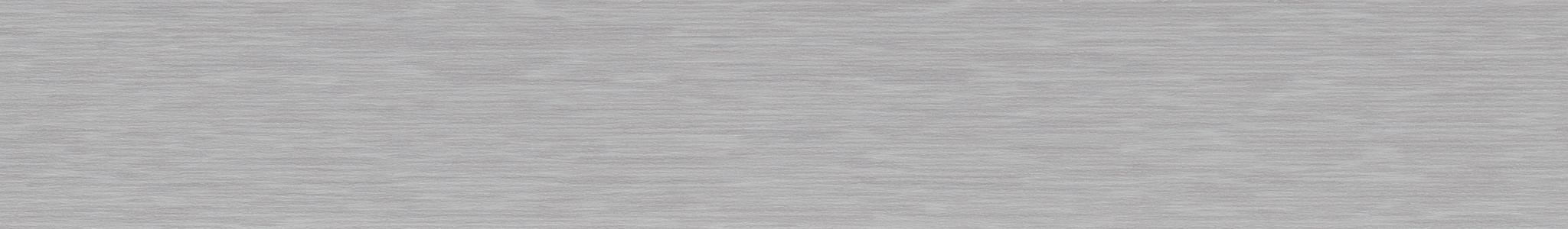 HD 296112 Кромка ABS Сталь Серая - Гладкая