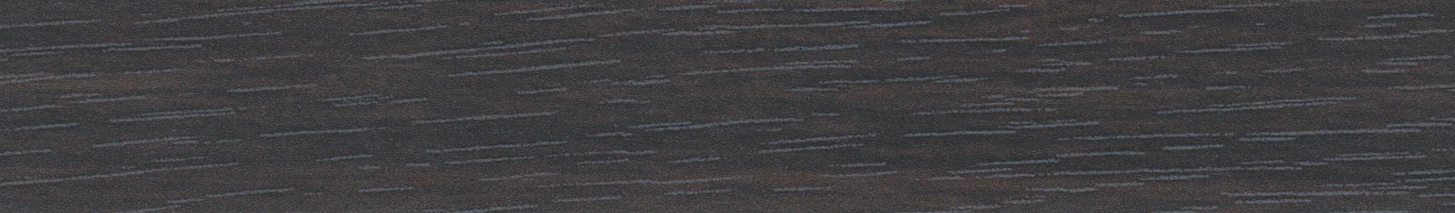 HD 44623 Melamin Kante Schwarz Eiche Pore