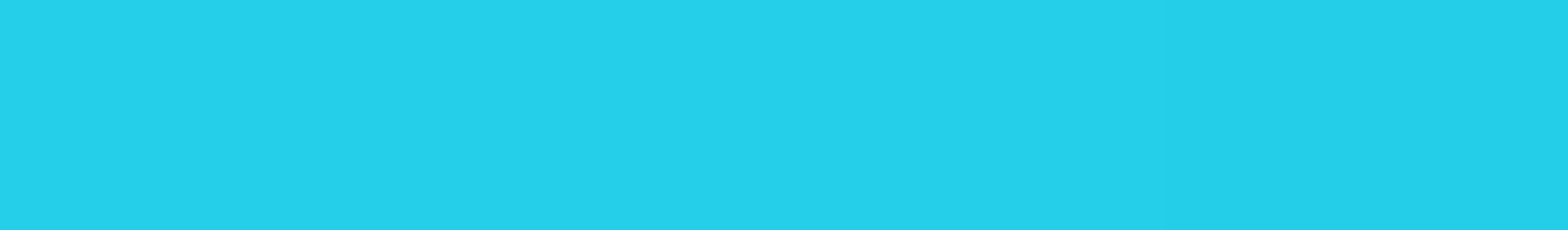 HU 155515 ABS Edge Cyan Blue Smooth Gloss 90°