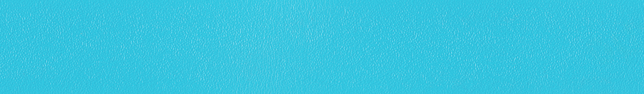 HU 155515 ABS Kante UNI Cyan Blau perl 101
