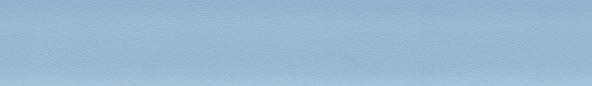 HU 15621 ABS Kante UNI Hellblau perl 101