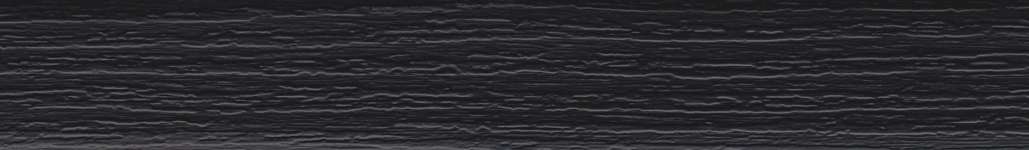 HU 19015 ABS Kante Schwarz Grobe Pore 104