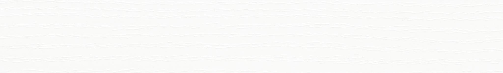 HU 30113 Melamin Kante Weiß Pore