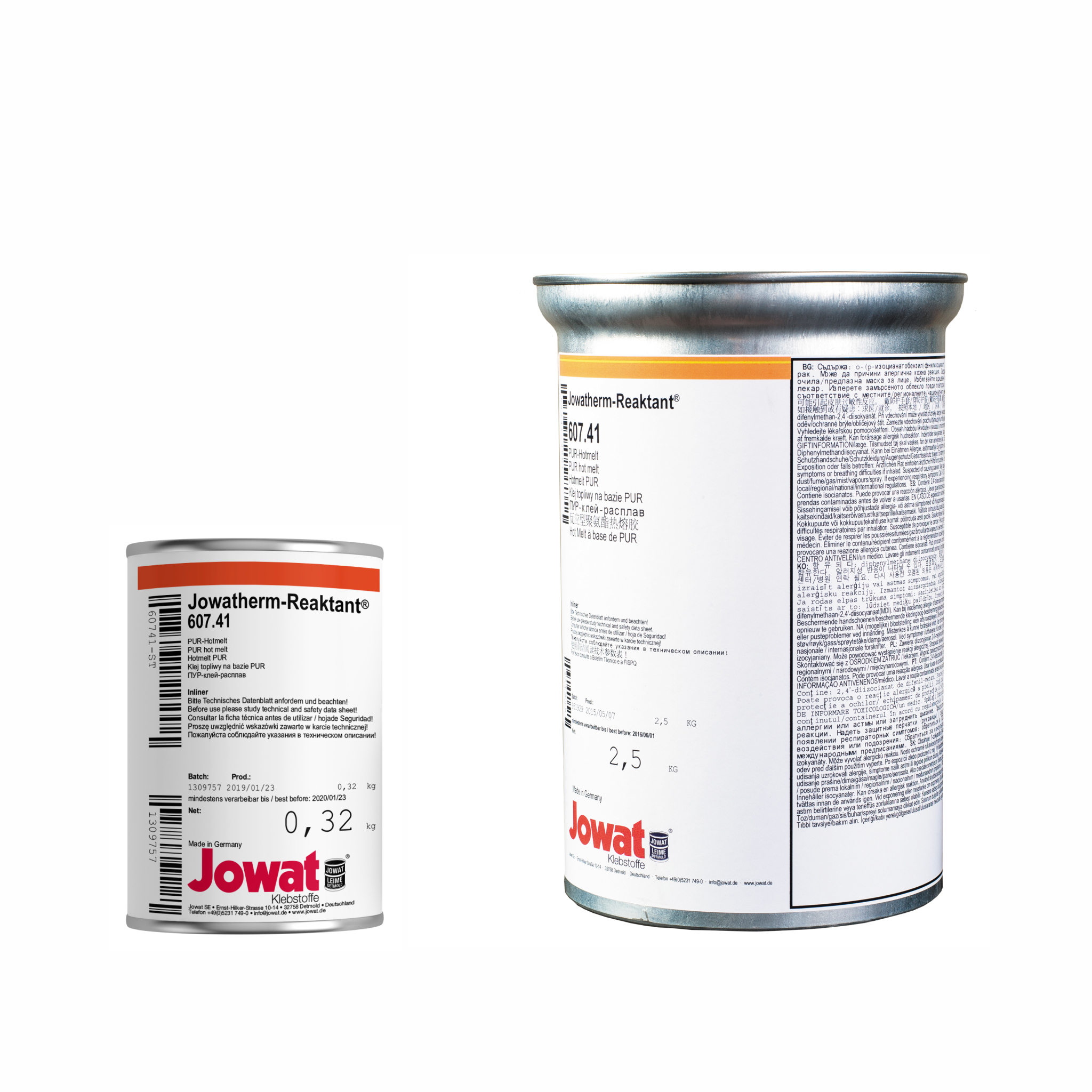 JOWATHERM 607.41 White - PUR Hot Melt