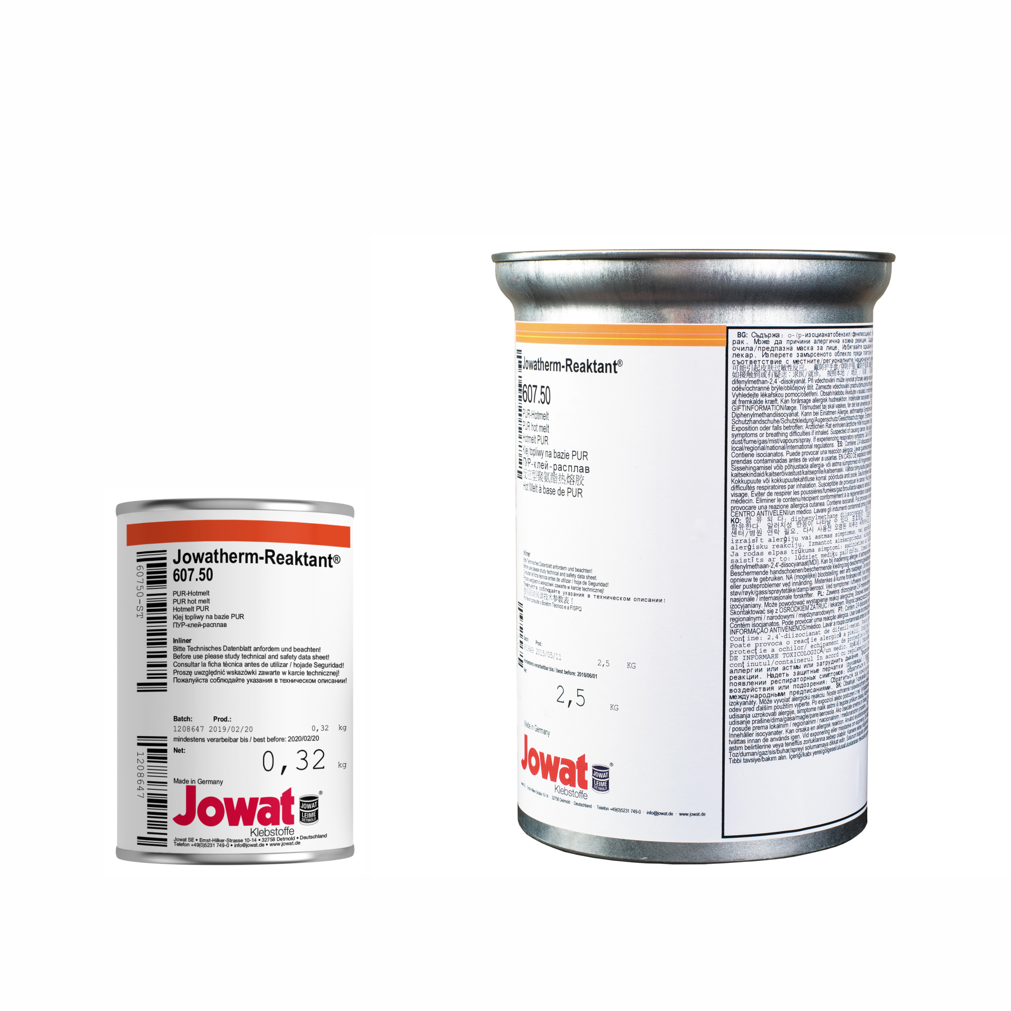 JOWATHERM 607.50 Nature - PUR Thermofusible
