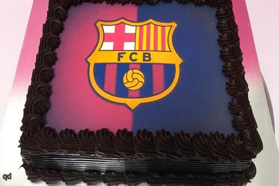Love Sugar And Dessert Fc Barcelona Cake 1 5kg