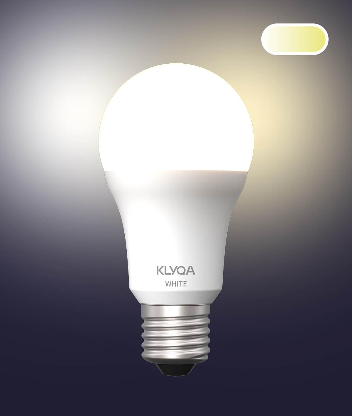 E27 White Lampe
