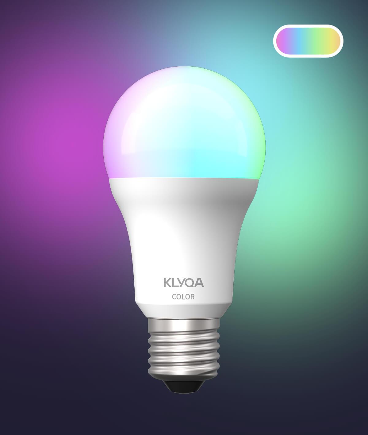 E27 Color Lampe