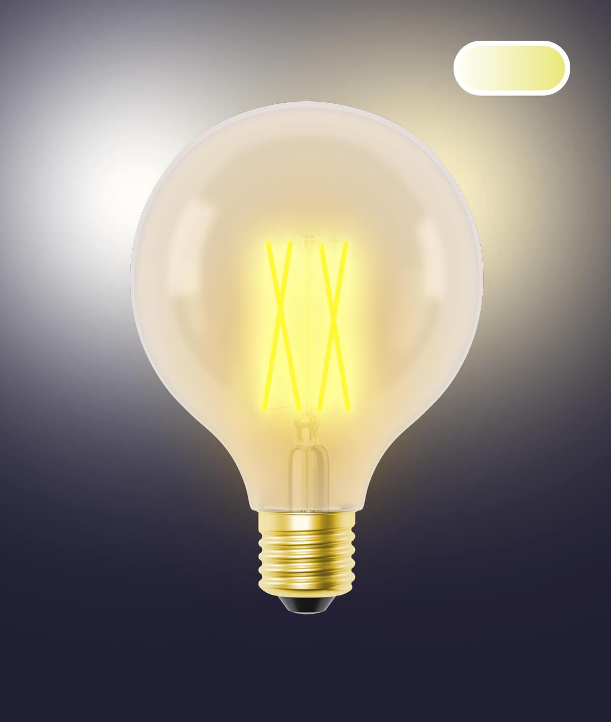 G95 Vintage Lampe