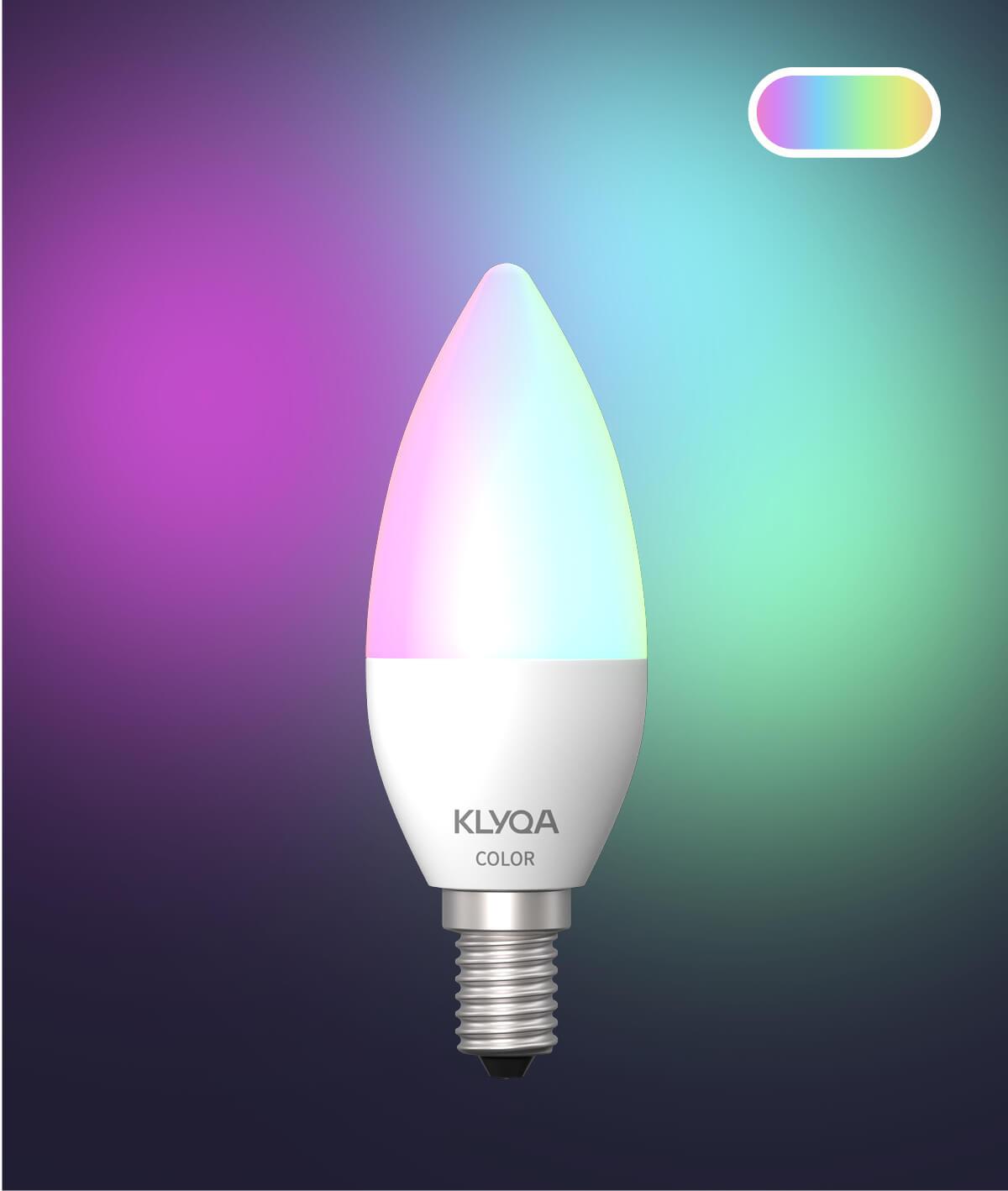 E14 Color Lampe